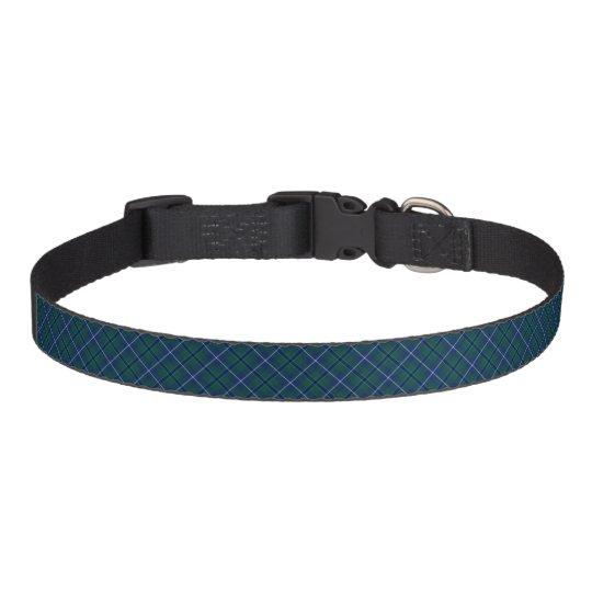 Douglas Modern Clan Tartan Pet Collar