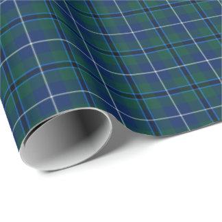 Douglas Modern Clan Tartan Wrapping Paper