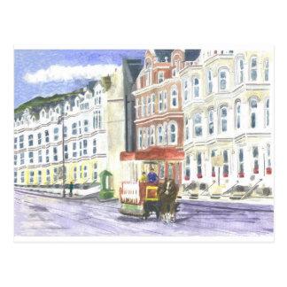 Douglas Promenade Postcard