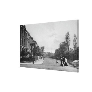 Douglas Road, Canonbury, Islington, c.1905 Canvas Print