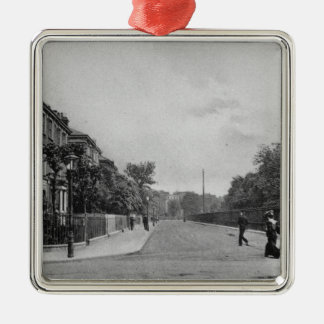 Douglas Road, Canonbury, Islington, c.1905 Christmas Ornament