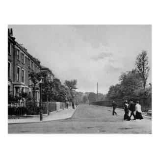 Douglas Road, Canonbury, Islington, c.1905 Postcard