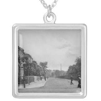 Douglas Road, Canonbury, Islington, c.1905 Silver Plated Necklace