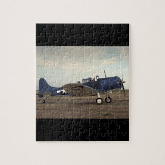 Douglas, SBD Dauntless,_Classic Aviation Jigsaw Puzzle