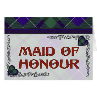 Douglas Scottish Tartan Greeting Card