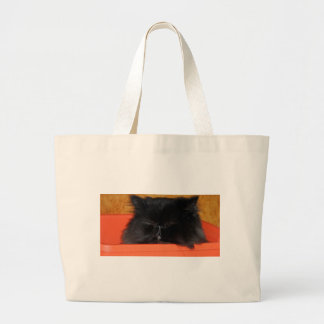 Dougy the Persian cat tote
