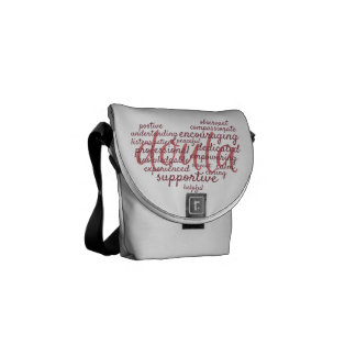 Doula Heart Bag Courier Bags