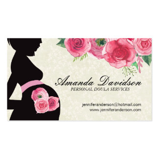 Doula, Midwife and Belly Casting Business Cards
