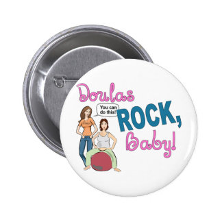 Doulas Rock! Gifts 6 Cm Round Badge