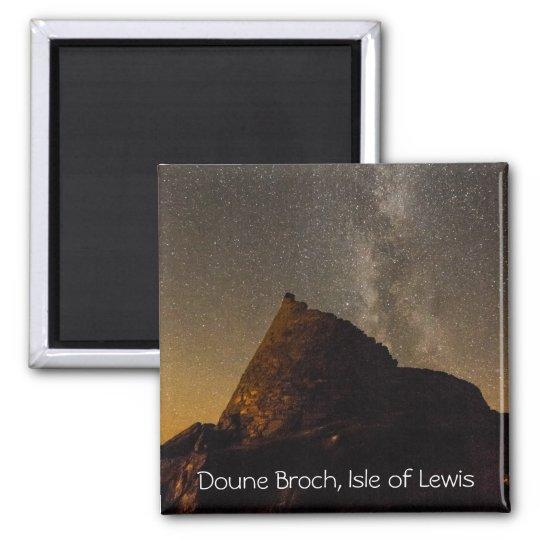 Doune Broch, Carloway, Isle of Lewis Fridge Magnet