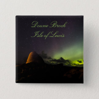 Doune Broch, Isle of Lewis and Aurora badge