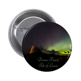 Doune Broch, Isle of Lewis and Aurora small badge