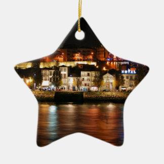 Douro river in Porto, Portugal Christmas Ornament