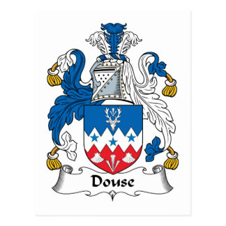 Douse Family Crest Postcard