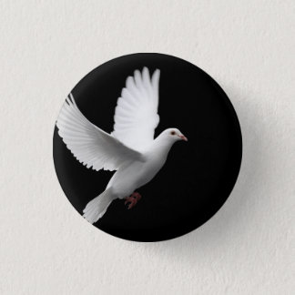 Dove 3 Cm Round Badge