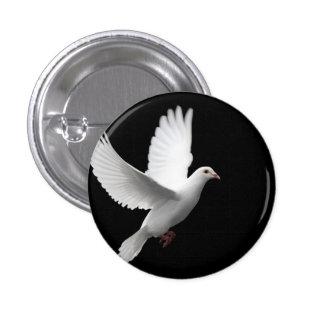 Dove 3 Cm Round Badge