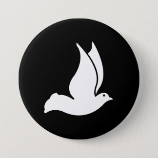 Dove 7.5 Cm Round Badge