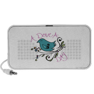 Dove A Day Notebook Speaker