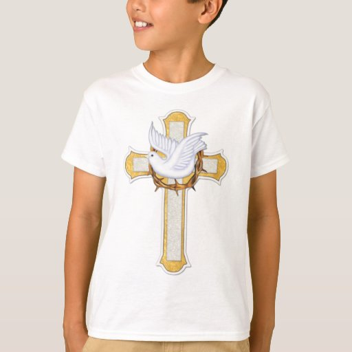 Dove and Cross Tee Shirts