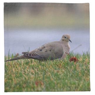 Dove Bird Cloth Napkin