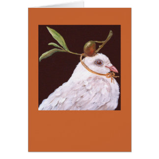 dove card(Olivia) Greeting Card