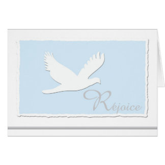 Dove Christian Religious Easter Greeting Card