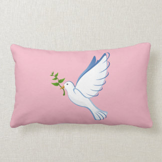 """""""Dove"""" cotton holiday pillow"""