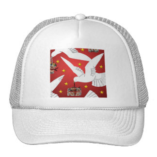 Dove Delivery Cap Mesh Hats