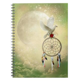 Dove Dreamcatcher Notebook
