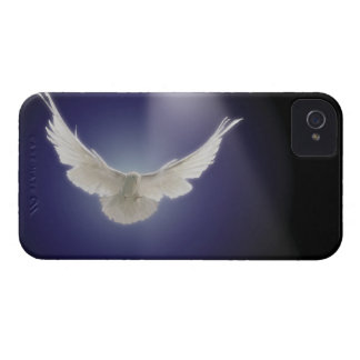 Dove flying through beam of light iPhone 4 Case-Mate cases