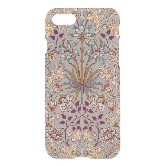 Dove Grey Hyacinth iPhone 7 Clear Case