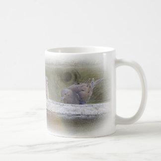 Dove love bath time mug