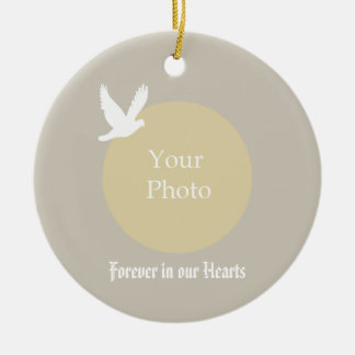 Dove Memorial Christmas Ornament - In our Hearts