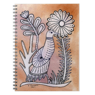Dove, Mexican Bark Style Notebooks
