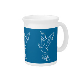 Dove of Peace Beverage Pitchers
