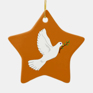 Dove of Peace Christmas Ornament