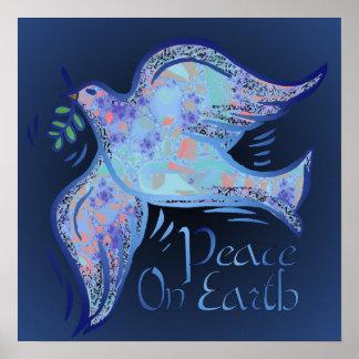 Dove of Peace Midnight Print