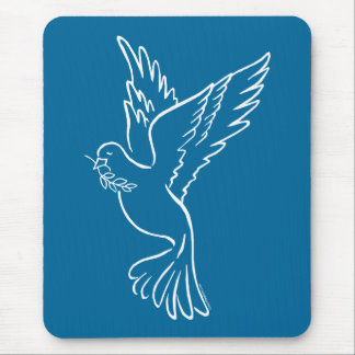 Dove of Peace Mouse Pad