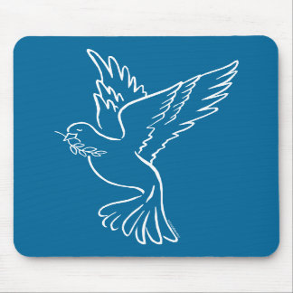 Dove of Peace Mouse Pads
