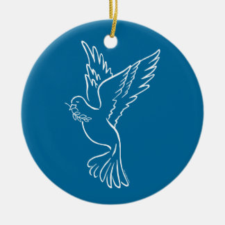 Dove of Peace Ornaments