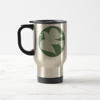 Dove of Peace Sign Coffee Mug
