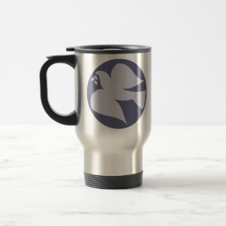 Dove of Peace Sign Coffee Mugs