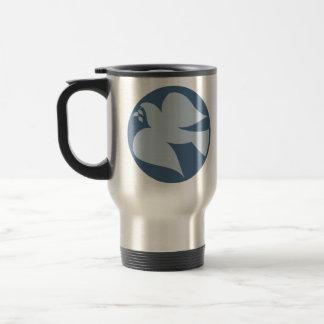Dove of Peace Sign Mugs
