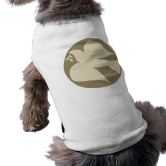 Dove of Peace Sign Pet Clothing