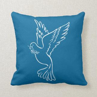 Dove of Peace Throw Pillows