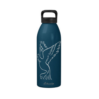 Dove of Peace Water Bottle