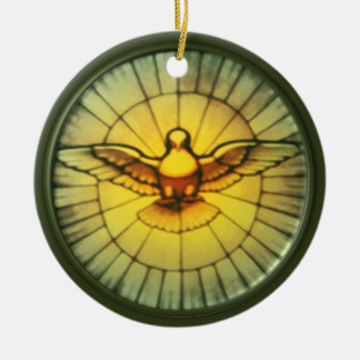 Dove of the Holy Spirit Christmas Ornament