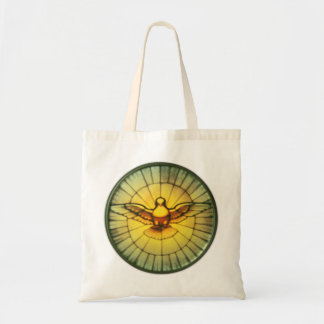 Dove of the Holy Spirit Tote Bag