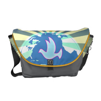 Dove Of  World Peace Sony ATV  Come Together Courier Bag