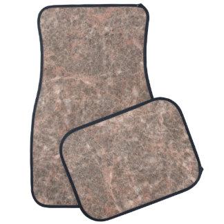Dove Pink Stone Pattern Background Floor Mat